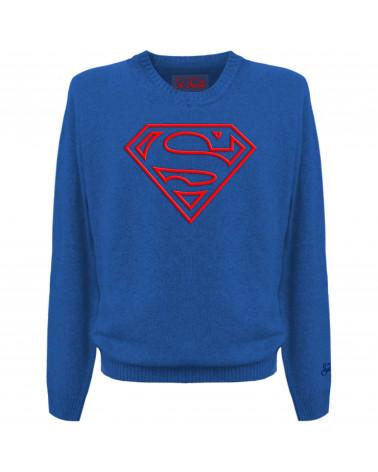 SUDADERA LOGO SUPERMAN MC2...